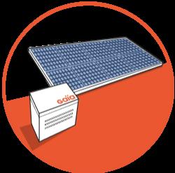 panneau photovoltaique Gaia