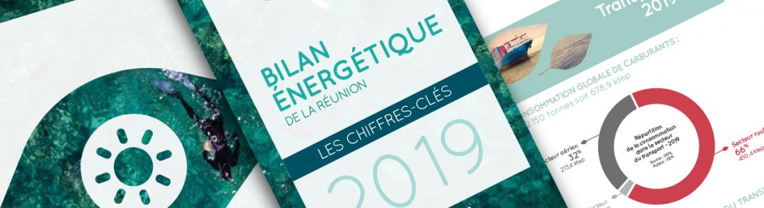Découvrez le Bilan Énergétique de La Réunion 2019, édition 2020.