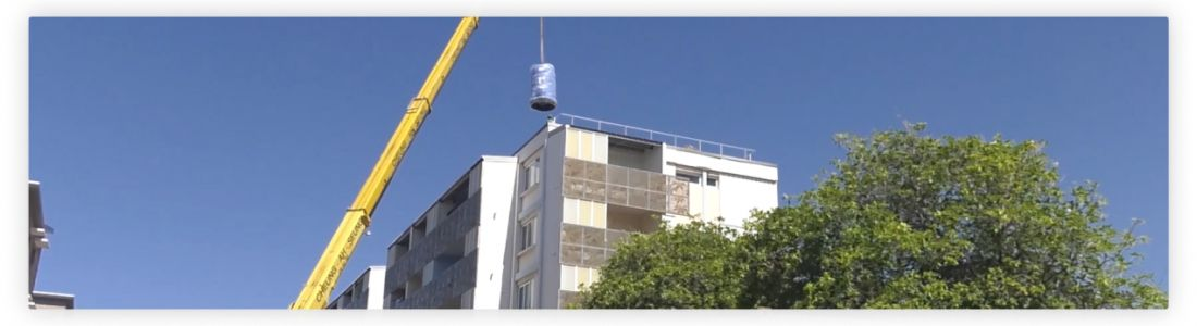 Gaïa réhabilite le système de distribution d'eau chaude pour près de 400 Réunionnais à Saint-Pierre.
