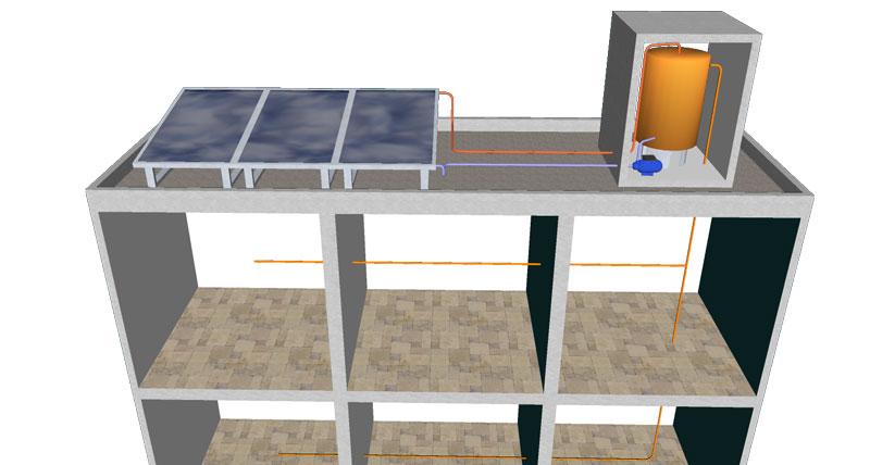 Schema Instalation 3d